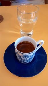 Small double espresso