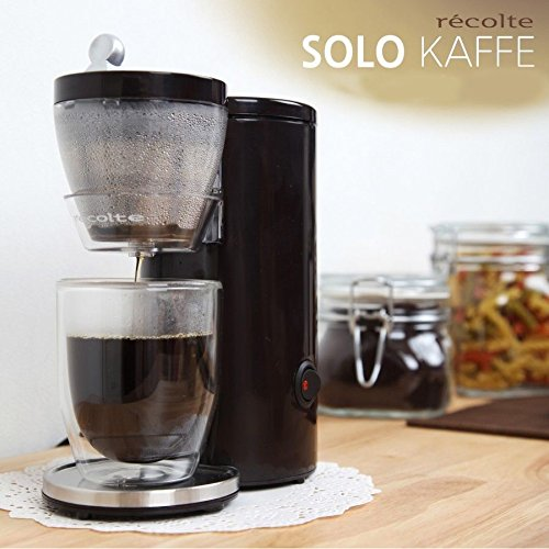 One Cup Coffee Maker Reviews 2015 : Single Cup Coffee Maker: The Solo Kaffe Maker PurelyCoffeeBeans Reviews, Tips & Recipes