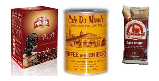 vietnams coffee selection