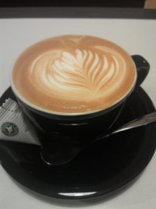 Cappuccino in large bowl shaped cup - Agnes b. Taipei